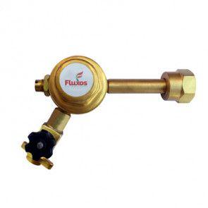 Regulador de pressão para chopp pré calibrado 1 saída com válvula - sem manômetro