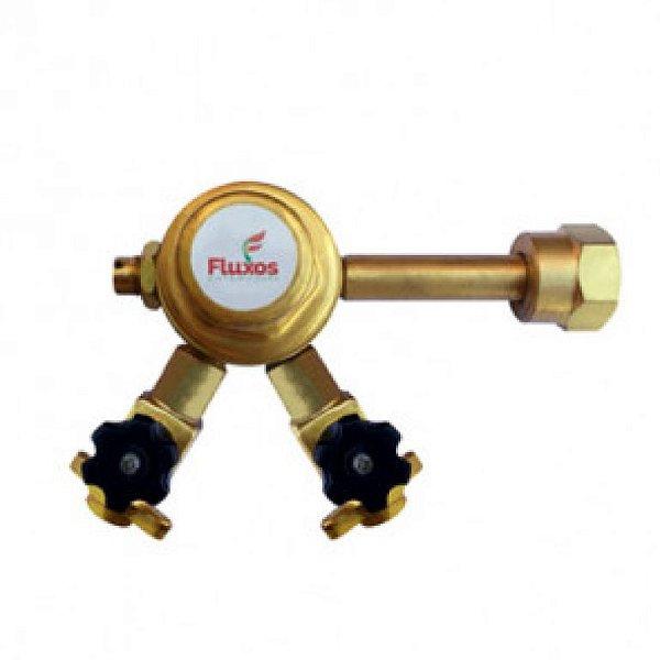 Regulador de pressão para chopp pré calibrado 2  saídas sem monômetro