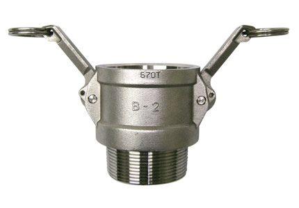 Acoplador com rosca macho 1/2 BSP(camlock)