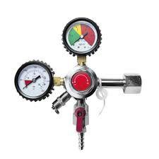 Regulador de pressão chopp 1 saída para engate rápido e manômetro