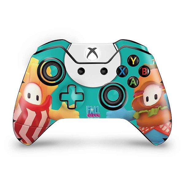 Skin Xbox One Fat Controle - Fall Guys