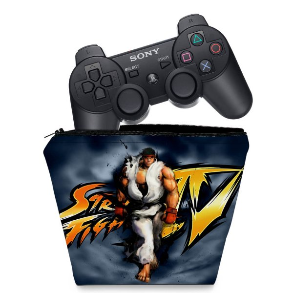 Capa PS3 Controle Case - Street Fighter #A