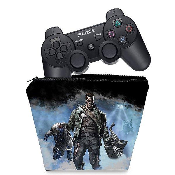 Capa PS3 Controle Case - Exterminador