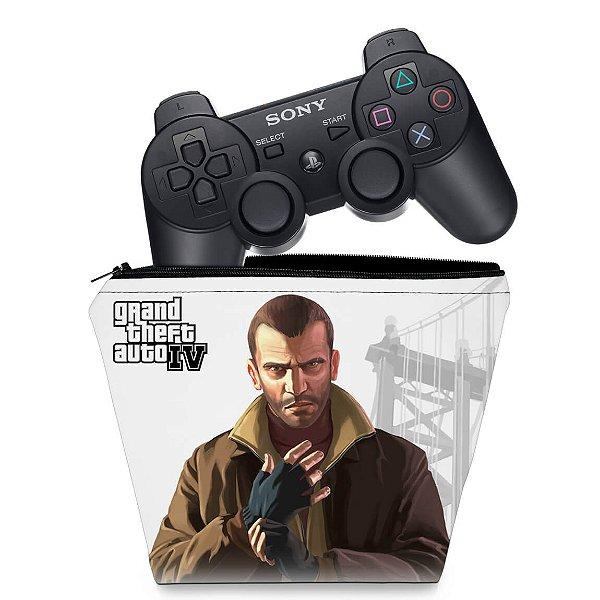 Capa PS3 Controle Case - Gta Iv