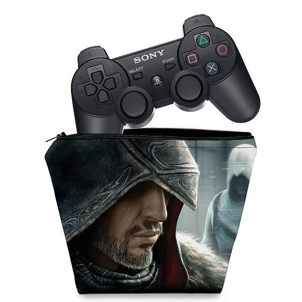 Capa PS3 Controle Case - Assassins Creed Revelations