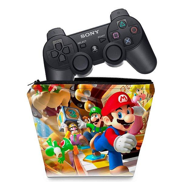 Capa PS3 Controle Case - Mario Party
