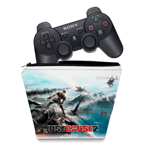 Capa PS3 Controle Case - Just Cause 2