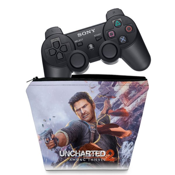 Capa PS3 Controle Case - Uncharted 2