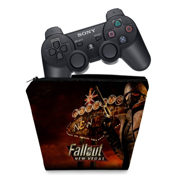 Capa PS3 Controle Case - Fallout New