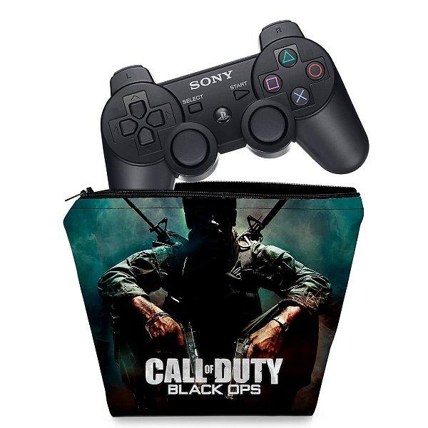 Capa PS3 Controle Case - Call O Duty Black Ops
