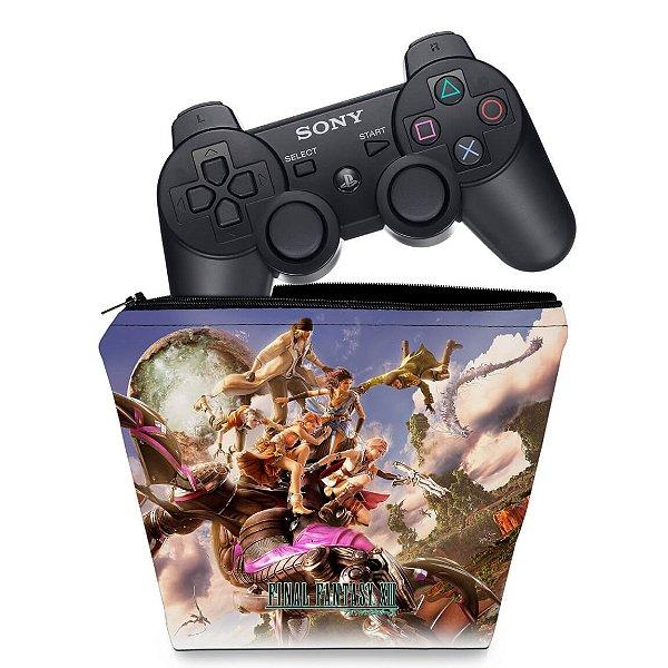 Capa PS3 Controle Case - Final Fantasy Xiii