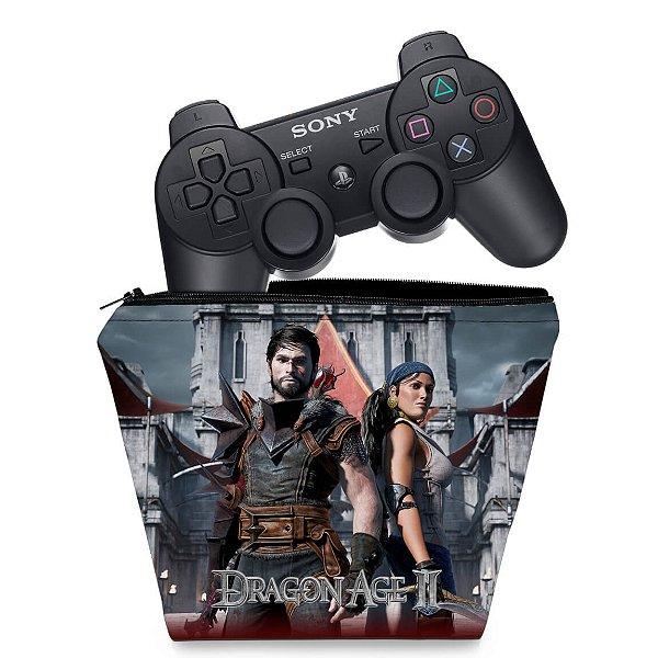 Capa PS3 Controle Case - Dragon Age 2