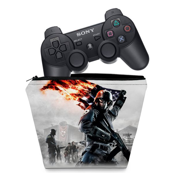 Capa PS3 Controle Case - Homefront