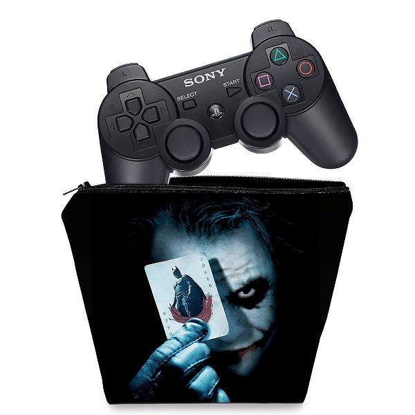 Capa PS3 Controle Case - Batman Coringa
