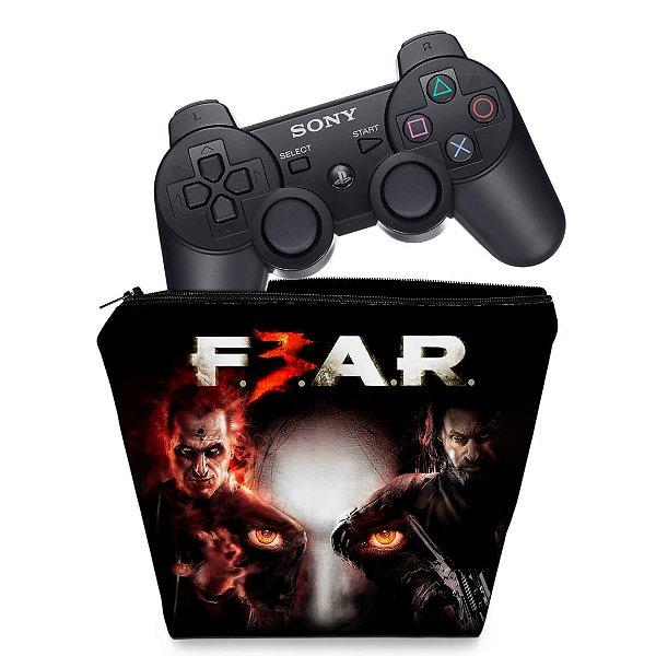 Capa PS3 Controle Case - F3ar Fear 3