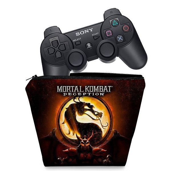 Capa PS3 Controle Case - Mortal Kombat #b