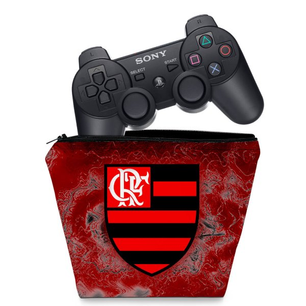 Capa PS3 Controle Case - Flamengo