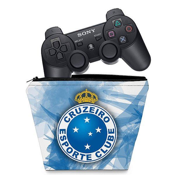 Capa PS3 Controle Case - Cruzeiro