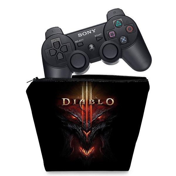 Capa PS3 Controle Case - Diablo 3