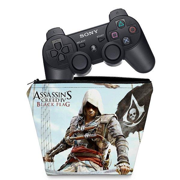 Capa PS3 Controle Case - Assassins Creed IV Black Flag
