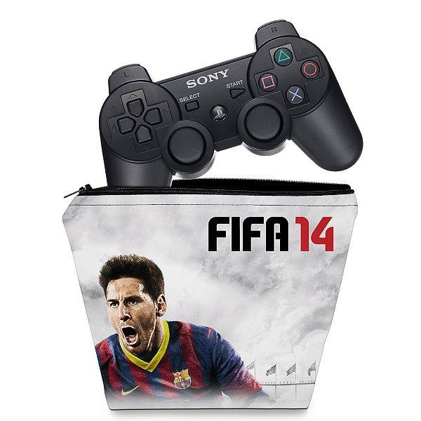Capa PS3 Controle Case - Fifa 14 2014