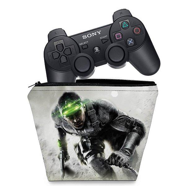 Capa PS3 Controle Case - Splinter Cell Blacklist