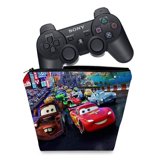 Capa PS3 Controle Case - Carros 2 Cars
