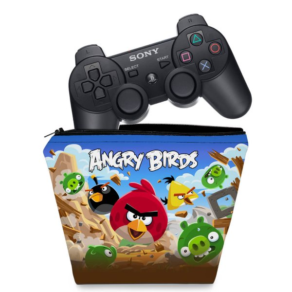 Capa PS3 Controle Case - Angry Birds