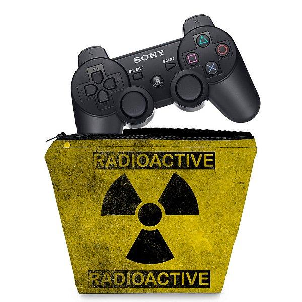 Capa PS3 Controle Case - Radioativo