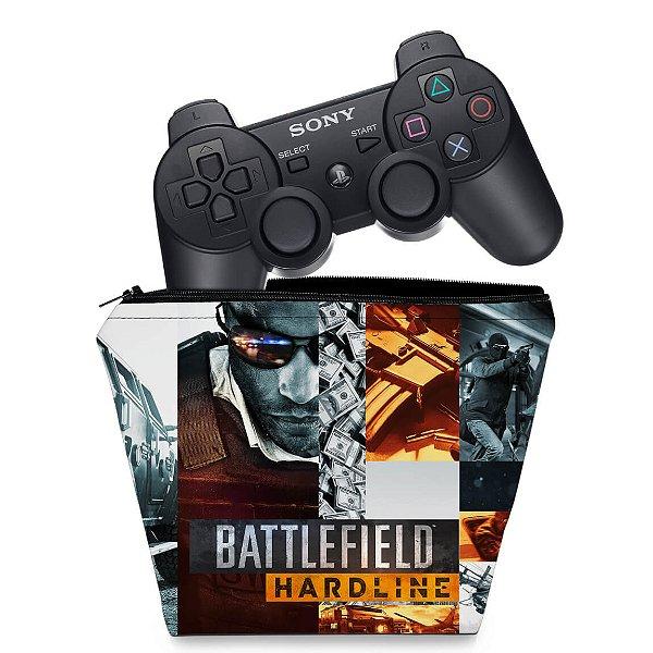 Capa PS3 Controle Case - Battlefield Hardline