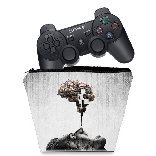 Capa PS3 Controle Case - The Evil Within