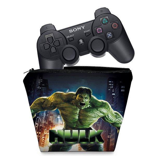 Capa PS3 Controle Case - Hulk