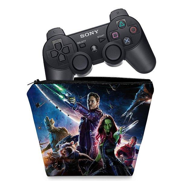 Capa PS3 Controle Case - Guardiões Da Galaxia