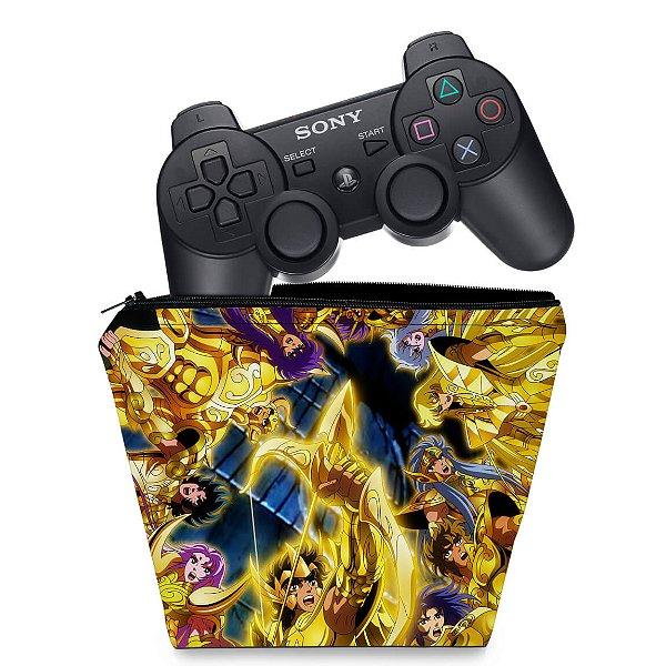 Capa PS3 Controle Case - Cavaleiros Do Zodiaco