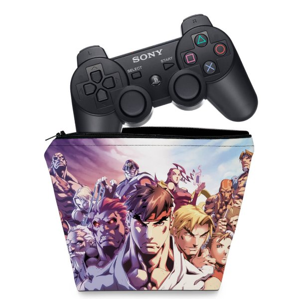 Capa PS3 Controle Case - Street Fighter