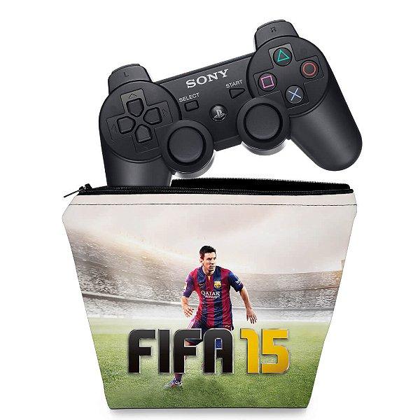 Capa PS3 Controle Case - Fifa 15