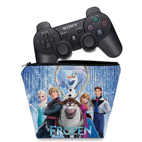 Capa PS3 Controle Case - Frozen