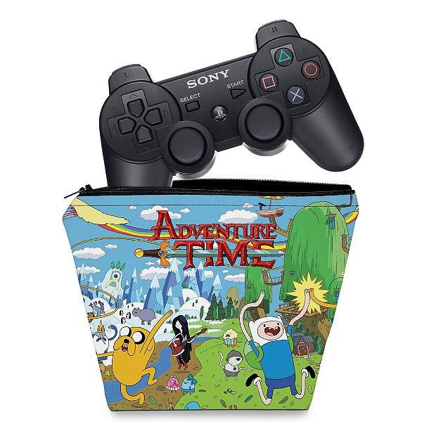 Capa PS3 Controle Case - Hora De Aventura