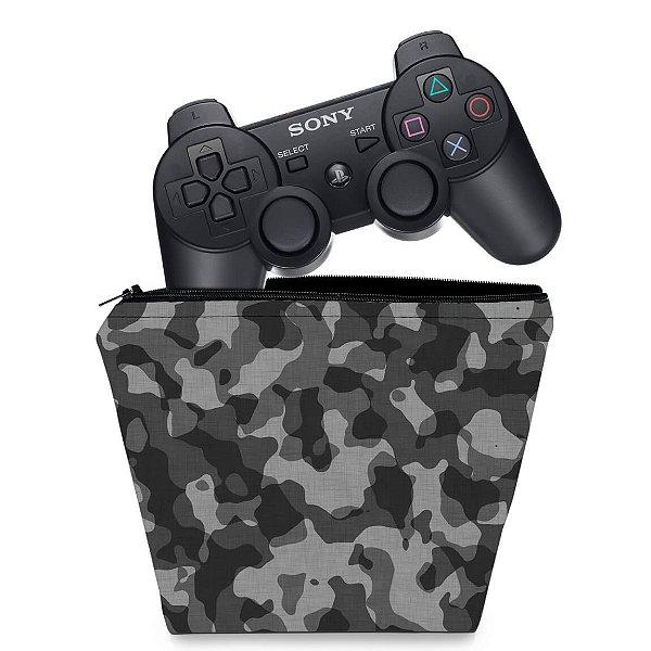 Capa PS3 Controle Case - Camuflado