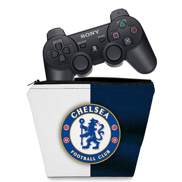 Capa PS3 Controle Case - Chelsea