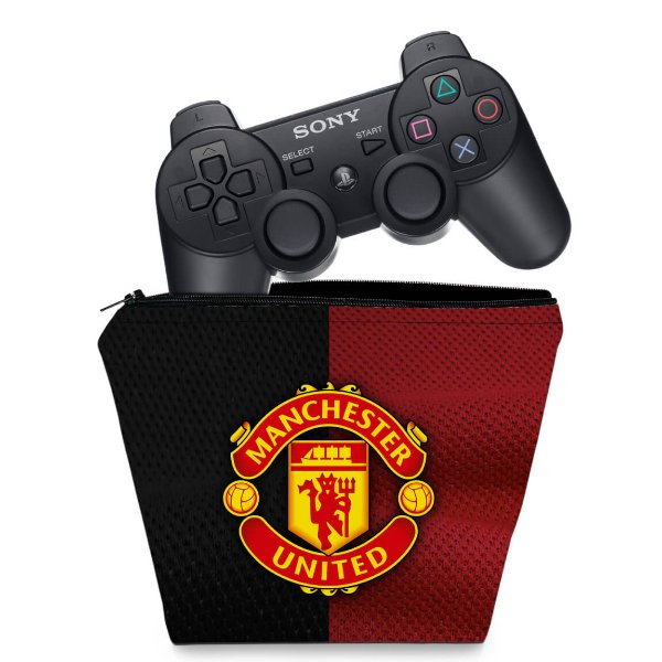 Capa PS3 Controle Case - Manchester United