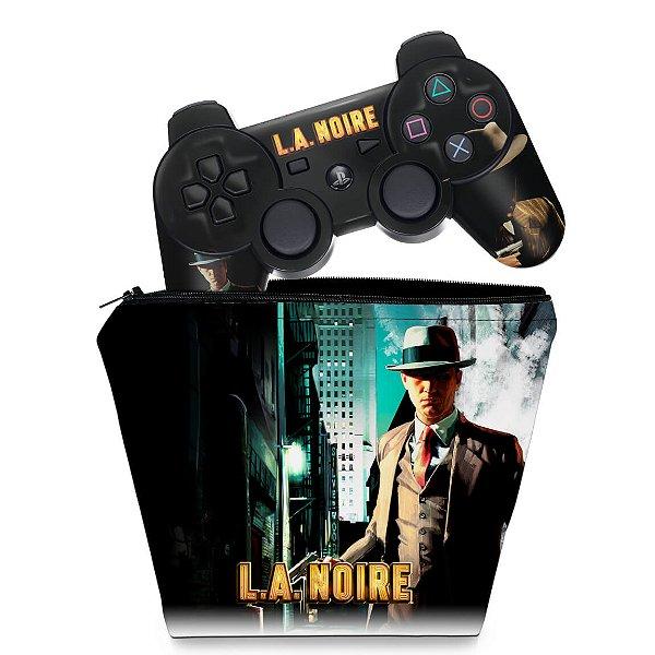 KIT Capa Case e Skin PS3 Controle - Shogun 2 Total War
