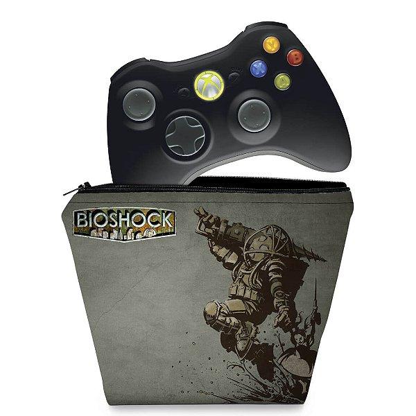 Capa Xbox 360 Controle Case - Bioshock