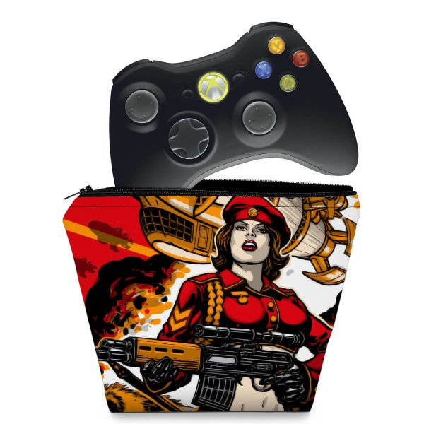 Capa Xbox 360 Controle Case - Command And Conquer