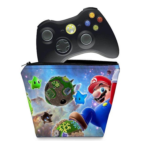 Capa Xbox 360 Controle Case - Super Mario