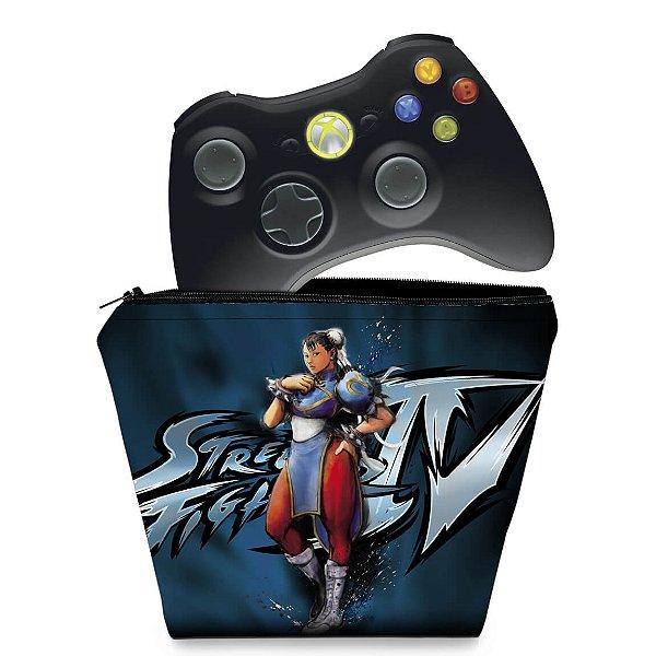 Capa Xbox 360 Controle Case - Street Fighter 4 #b