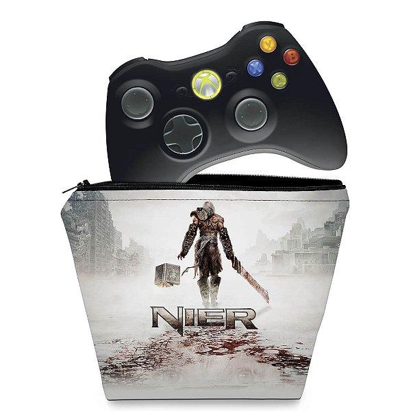 Capa Xbox 360 Controle Case - Nier