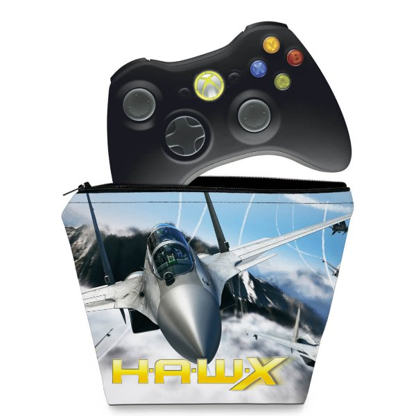 Capa Xbox 360 Controle Case - Tom Clancys Hawx