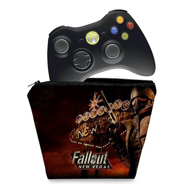 Capa Xbox 360 Controle Case - Fallout New Vegas