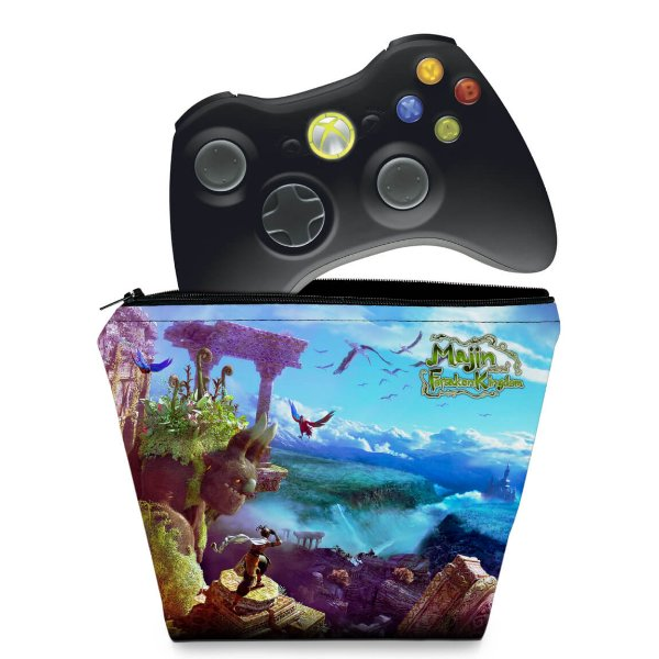 Capa Xbox 360 Controle Case - Majin Forsaken